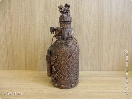 Бутылка сделана на заказ. фото 6