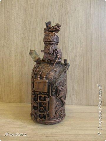 Бутылка сделана на заказ. фото 7