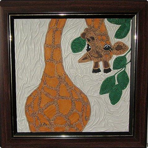 Понравилась работа со слоном. В пару получился жираф.