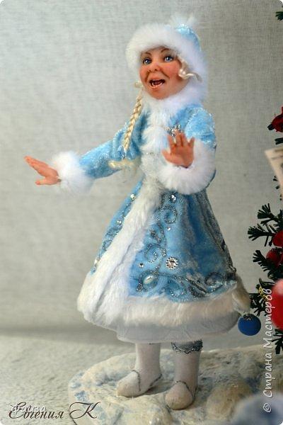 Должен же быть и у Деда Мороза такой праздник. По такому случаю споем песню)))) Все выполнено вручную. фото 3