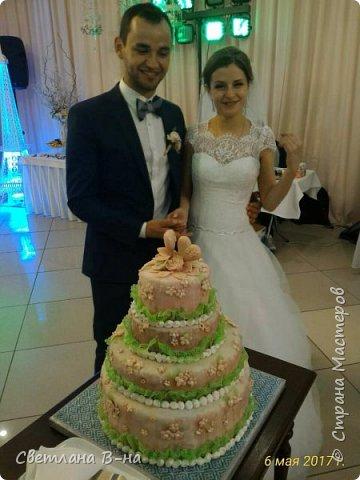 Кое что из того что делала к свадьбе сына. Шампанское (у нас безалкогольное) и фужеры. фото 5