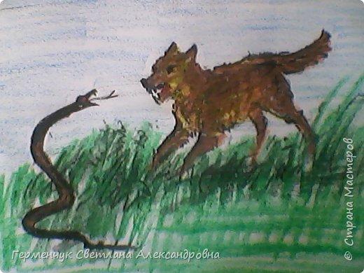 """По обобщающей теме """"Рассказы о животных""""  ребята подготовили  свои рисунки ,некоторые  раскраски. Л.Толстой """"Лев и собачка"""" фото 4"""