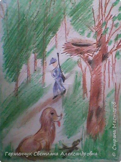 """По обобщающей теме """"Рассказы о животных""""  ребята подготовили  свои рисунки ,некоторые  раскраски. Л.Толстой """"Лев и собачка"""" фото 6"""
