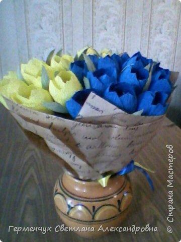 Букет из конфет  от Стаса и мамы Инги Александровны!!! фото 1