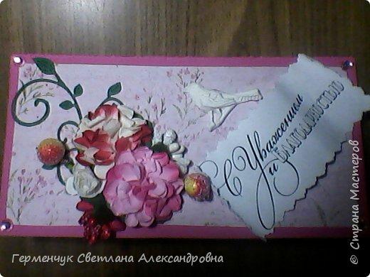 Шоколадница   со  сладким  сувениром  фото 3