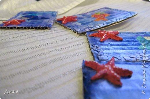"""Привееет всем!!! Представляю вам свои первые АТС карточки """"Морские обитатели"""" фото 6"""