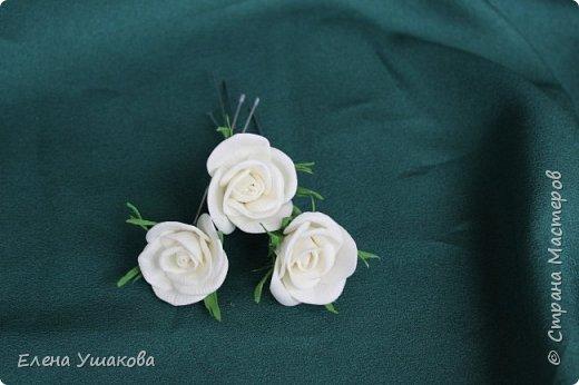 Повязки и брошки с цветами Прострел луговой и бабочки))) фото 4