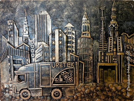 Это четыре картины выполнены на заказ для одной Московской строительной фирмы.  фото 3