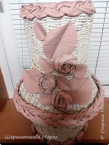 Напольная ваза фото 3