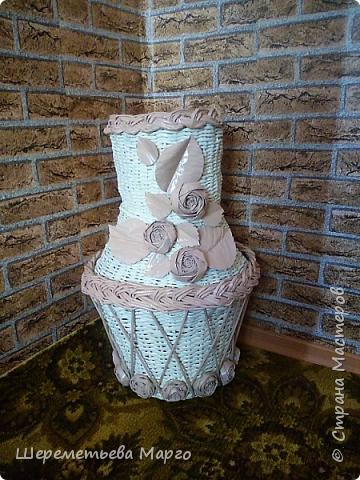 Напольная ваза фото 4