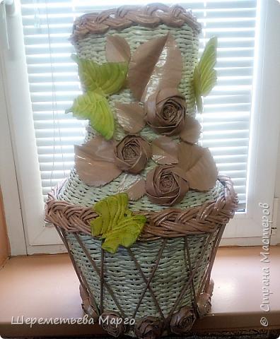 Напольная ваза фото 5