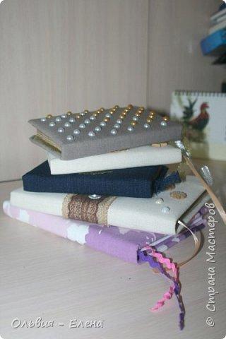 Всем добрый день!!! наконец - то я сфотографировала Кристинины записные книжки, их у неё уже 5 , шестая в процессе изготовления фото 2