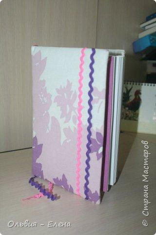 Всем добрый день!!! наконец - то я сфотографировала Кристинины записные книжки, их у неё уже 5 , шестая в процессе изготовления фото 4