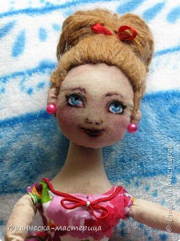 Всем огромноый  ПРИВЕТ!!! Выкладываю свои новиночки. Куклы ростом в 34см, сшиты из кукольной хлопковой ткани. Набивка - синтепух. А всё остальное - фантазии.  ИТАК.... фото 2