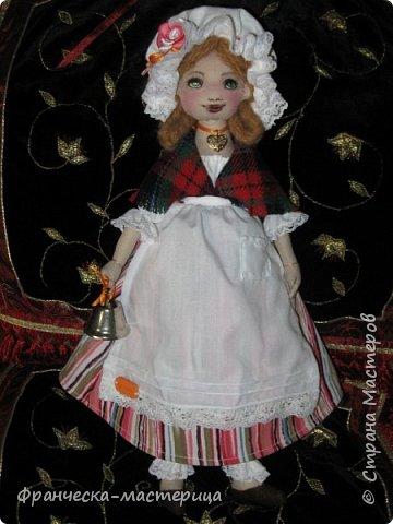 Всем огромноый  ПРИВЕТ!!! Выкладываю свои новиночки. Куклы ростом в 34см, сшиты из кукольной хлопковой ткани. Набивка - синтепух. А всё остальное - фантазии.  ИТАК.... фото 9