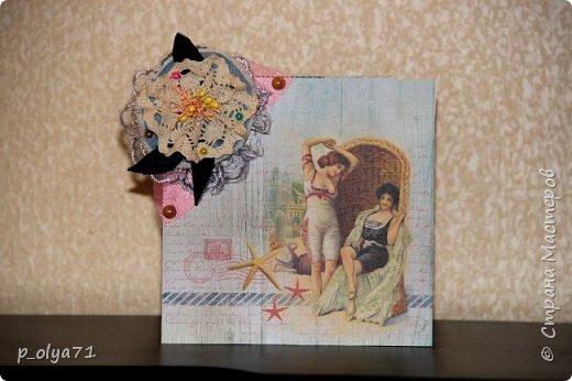 """Здравствуйте!!! Понравилось мне делать открытки,к тому же приятно,что они понравились))) Вот решила сделать ещё)) тем более,поводов предостаточно! Открыточка """"Зайка""""№1 (для старшей дочки,она просто в восторге была от первых моих открыток      http://stranamasterov.ru/node/1098547       )))) фото 21"""