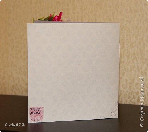 """Здравствуйте!!! Понравилось мне делать открытки,к тому же приятно,что они понравились))) Вот решила сделать ещё)) тем более,поводов предостаточно! Открыточка """"Зайка""""№1 (для старшей дочки,она просто в восторге была от первых моих открыток      http://stranamasterov.ru/node/1098547       )))) фото 3"""