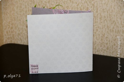 """Здравствуйте!!! Понравилось мне делать открытки,к тому же приятно,что они понравились))) Вот решила сделать ещё)) тем более,поводов предостаточно! Открыточка """"Зайка""""№1 (для старшей дочки,она просто в восторге была от первых моих открыток      http://stranamasterov.ru/node/1098547       )))) фото 6"""