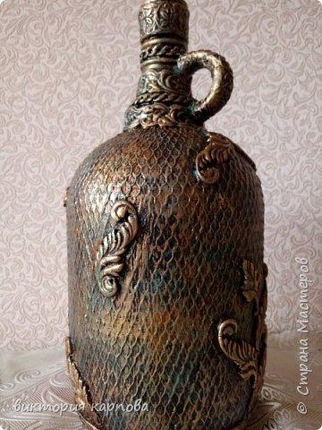 Старинная бутылка фото 2