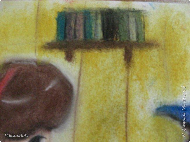 Ну, вот такой рисунок у меня получился!  Рисовала по просьбе младшего братика, который обожает этот мультик. Героев решила нарисовать в стиле аниме, чтоб интереснее было :)))  Рисовала по памяти. картинки не было. Так что за недочеты извиняйте :D  Рисунок выполнен сухой пастелью. фото 8