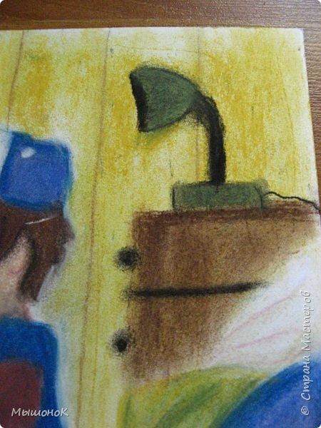Ну, вот такой рисунок у меня получился!  Рисовала по просьбе младшего братика, который обожает этот мультик. Героев решила нарисовать в стиле аниме, чтоб интереснее было :)))  Рисовала по памяти. картинки не было. Так что за недочеты извиняйте :D  Рисунок выполнен сухой пастелью. фото 9