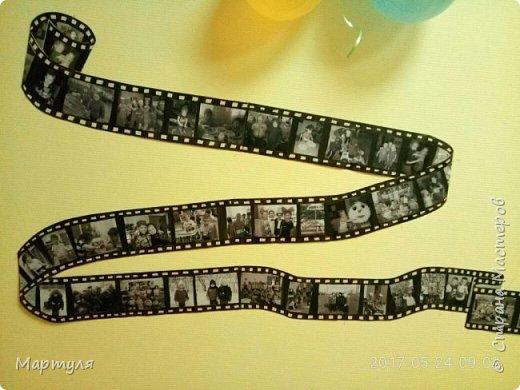 Стенгазета была сделана в виде старой фотопленки...это начало  фото 1