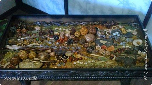 Кофейный столик РЕТРО , стиль ВИНТАЖ . Имитация бронзовой ковки и чугунного литья . фото 7