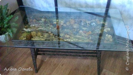 Кофейный столик РЕТРО , стиль ВИНТАЖ . Имитация бронзовой ковки и чугунного литья . фото 1