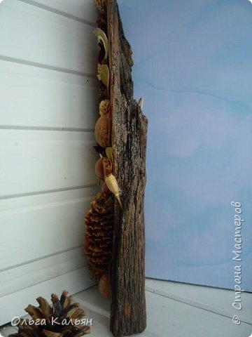 У всех лето, а у меня осень.Я имею в виду присутствие на панно осенних листьев. Но когда приходит идея в голову и ее хочется воплотить, то не смотришь на времена года, я думаю, что творческие люди со мной согласятся. фото 3
