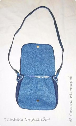 И еще одна джинсовая сумочка фото 2