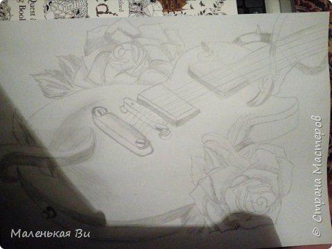 Работа к празднику Пасхи. Карандаш+контуры линером+белая ручка фото 4