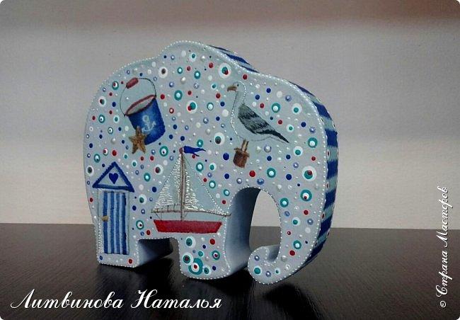 """Как и обещала """"попробую декупаж на слоне""""   )))  Встречайте декупажного первенца.....  Ну явно это ОН... фото 3"""