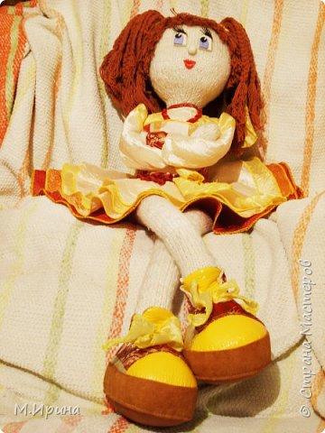 Всем привет! Сегодня пересматривала фотографии со своими поделками, набрела на папку с моими куклами.  Они уже все раздарены, остались только фотографии)) фото 8