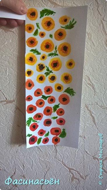 Училась рисовать цветы акварелью.Краски взяла у сына,акварель с тиснением лен не очень подходит для этих целей.Краска не растекается-расплывается,как на обычной.Но мне все равно понравилось. фото 8