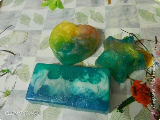 Пестрое молочное мыло с ароматом  иланг-иланг с мандарином.....Просто ММММ..... фото 6