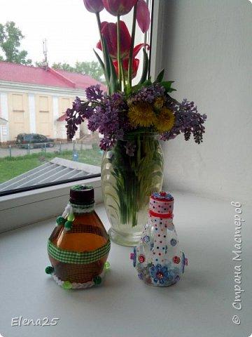 Баночки для мелочей из пластиковой бутылки