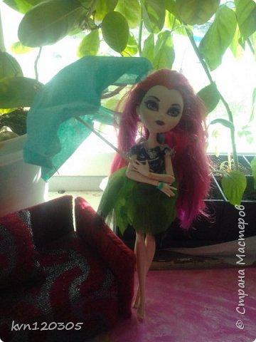 """Приветствую! Вот моя работа на конкурс """"Мисс Июнь"""". Это моя кукла по имени Оксана. Ей 17 лет, она модельер. Оксана очень общительная и добрая. Все наряды она делает себе сама. Этот наряд мечтательной особы она надела сегодня. фото 3"""