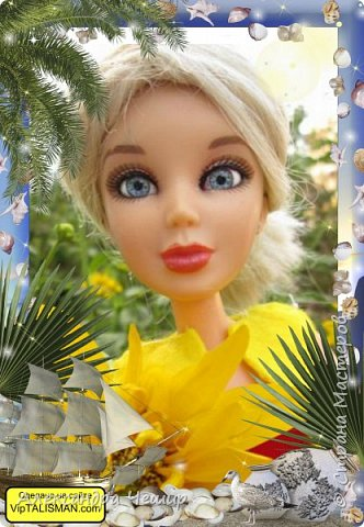 Здравствуйте, уважаемая Страна Мастеров!  Я хочу подарить подарки мастерицам, поэтому размещу в Кукольную Жизнь.  Элисон фон дер Ланд фото 11