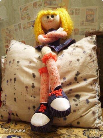Всем привет! Сегодня пересматривала фотографии со своими поделками, набрела на папку с моими куклами.  Они уже все раздарены, остались только фотографии)) фото 3