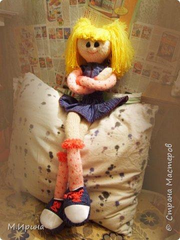 Всем привет! Сегодня пересматривала фотографии со своими поделками, набрела на папку с моими куклами.  Они уже все раздарены, остались только фотографии)) фото 4