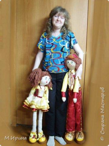 Всем привет! Сегодня пересматривала фотографии со своими поделками, набрела на папку с моими куклами.  Они уже все раздарены, остались только фотографии)) фото 11