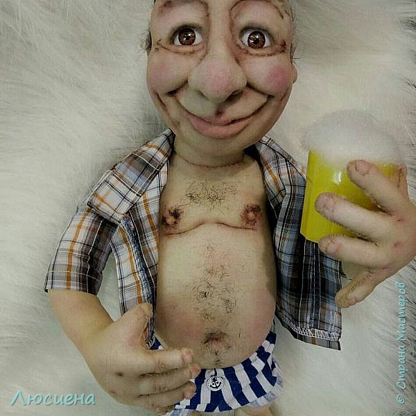 """Кукла ручной работы """"Портретная кукла"""" Техника скульптурный текстиль плюс валяние.Высота 50 см фото 1"""