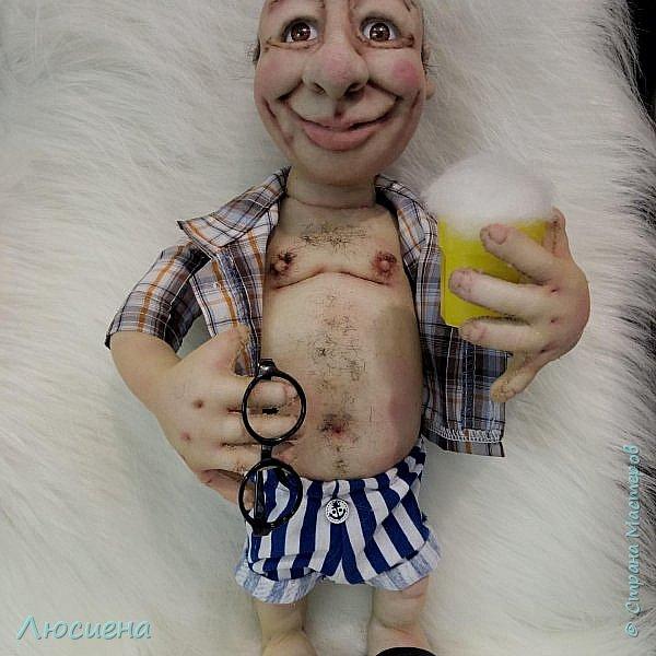 """Кукла ручной работы """"Портретная кукла"""" Техника скульптурный текстиль плюс валяние.Высота 50 см фото 2"""