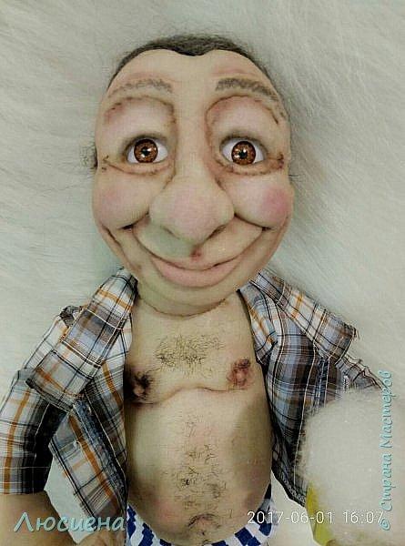 """Кукла ручной работы """"Портретная кукла"""" Техника скульптурный текстиль плюс валяние.Высота 50 см фото 3"""