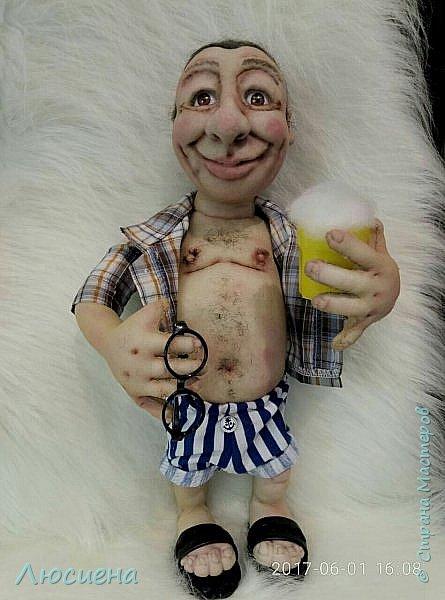 """Кукла ручной работы """"Портретная кукла"""" Техника скульптурный текстиль плюс валяние.Высота 50 см фото 4"""
