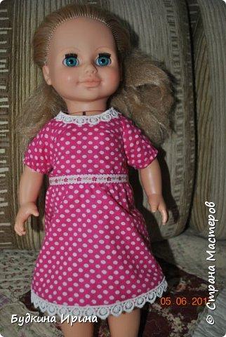Одежда для куколок. Платьице, юбочка и жилетка фото 2