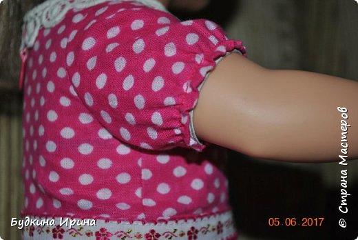 Одежда для куколок. Платьице, юбочка и жилетка фото 4