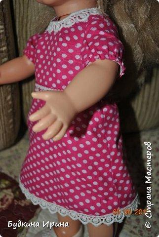 Одежда для куколок. Платьице, юбочка и жилетка фото 9