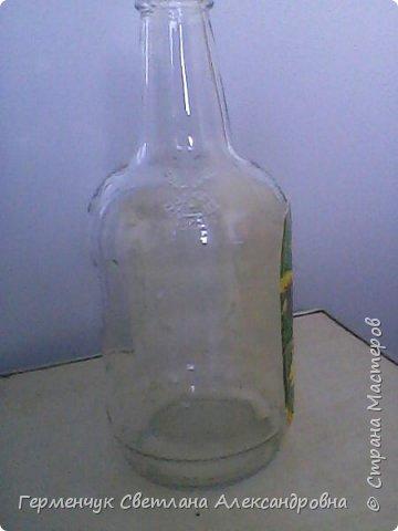 Сегодня  5 июня - Всемирный  день охраны окружающей среды  (День эколога).И  расскажу про   ламинирование пластиковой бутылкой стеклянных баночек ,бутылок ,кувшинов  .Информацию увидела в Интернете и решила попробовать..Вот так у меня вышло. фото 17