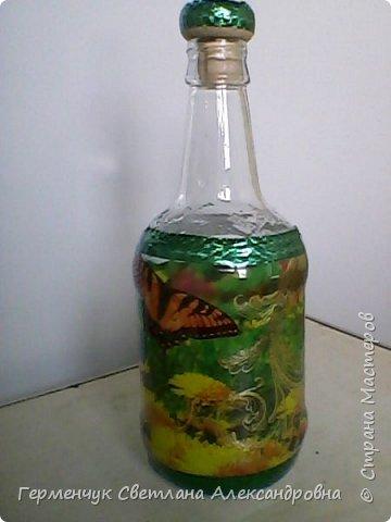 Сегодня  5 июня - Всемирный  день охраны окружающей среды  (День эколога).И  расскажу про   ламинирование пластиковой бутылкой стеклянных баночек ,бутылок ,кувшинов  .Информацию увидела в Интернете и решила попробовать..Вот так у меня вышло. фото 21